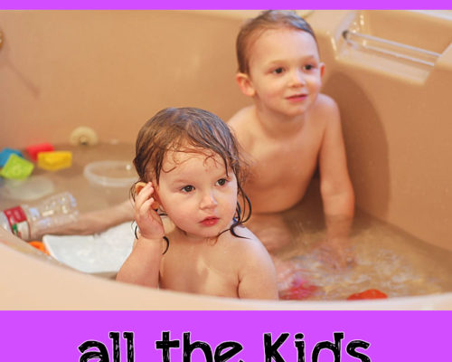 7 Tips to get all the Kids bathed at the same time