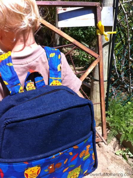 easy sewing pattern backpack