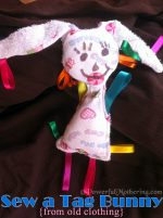Sew a Tag Bunny