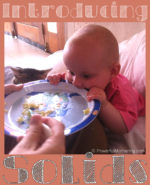 Introducing Solids For Baby