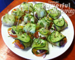 How To Make A Rolled Salad