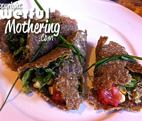 Raw Onion Wraps Recipe - All ready to be served Raw onion Wraps a sheet made 4