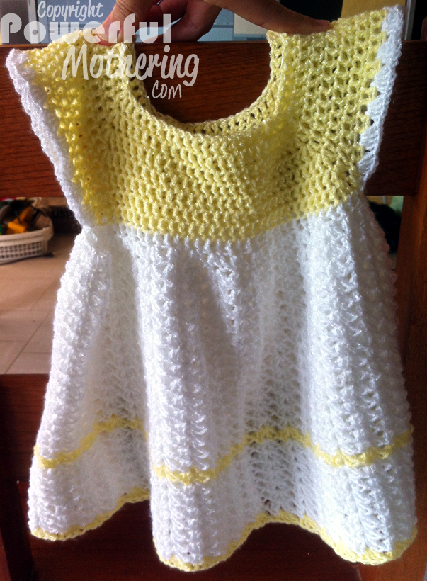 Free Printable Crochet Dress Patterns : Crochet A Dress, My First Try