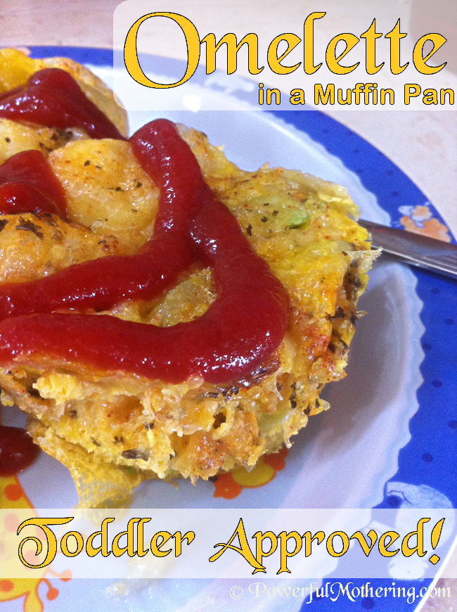 Omelette in a Muffin Pan - Toddler Approved Food