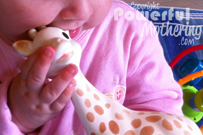 sophie the giraffe review @powermothering