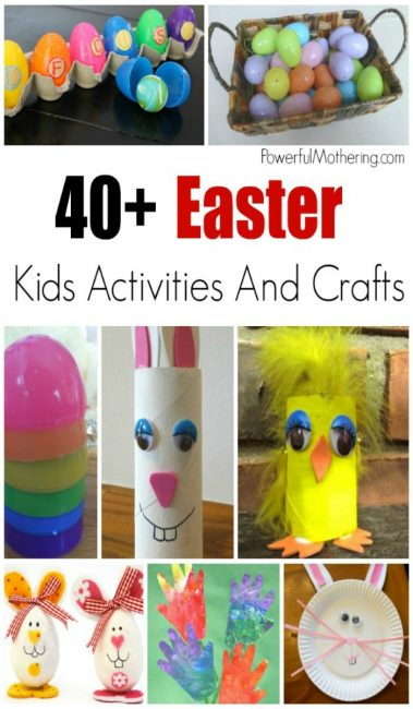 40+ Easter Activities And Crafts For The Family
