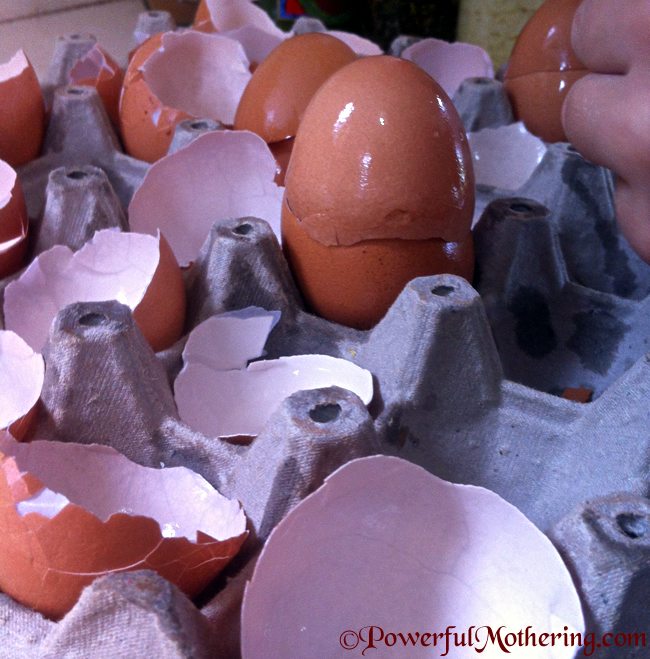 How To Dye Egg Shells For Kids Crafts