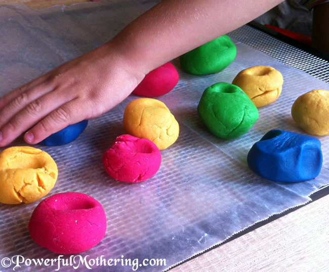 How to Make Salt Dough Easter Eggs