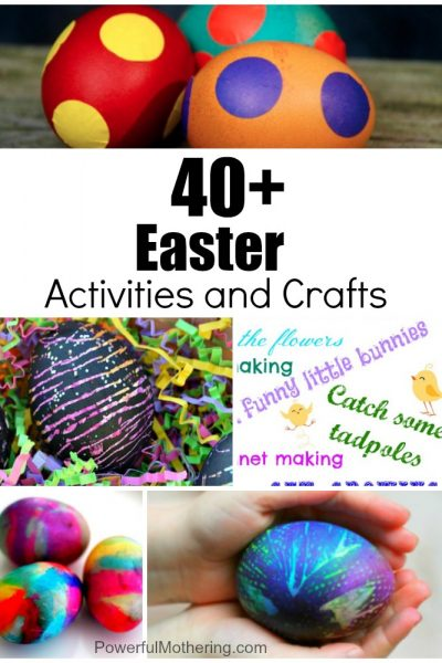40+ Easter Kids Activities and Crafts