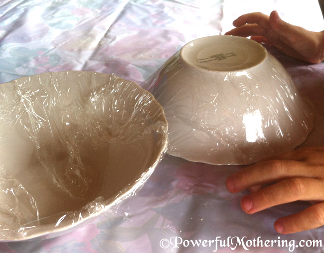 Paper Mache Bowl Craft