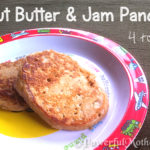 Peanut Butter and Jam Pancakes for Toddlers (PB&J)