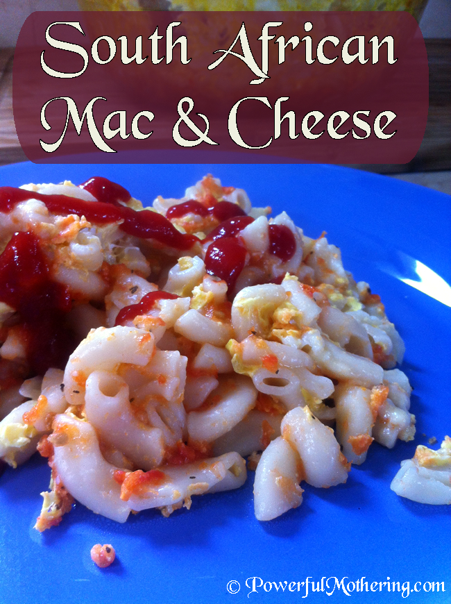 South African Mac And Cheese