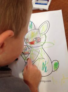 Free Cute Easter Coloring Page