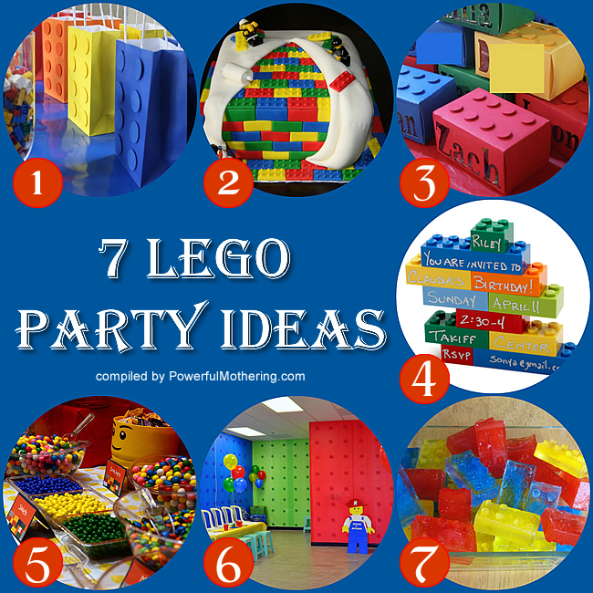 Party Time - 7 Lego Theme Ideas
