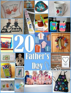21 ideas to make fathers day special diy kids crafts toddlers 20 fathers day gift ideas with kids negle Image collections