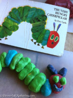 A Very Hungry Caterpillar Activity: Caterpillar to Butterfly with Play Dough