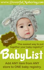 BabyList Review – The Only Baby Registry you will Ever Need!