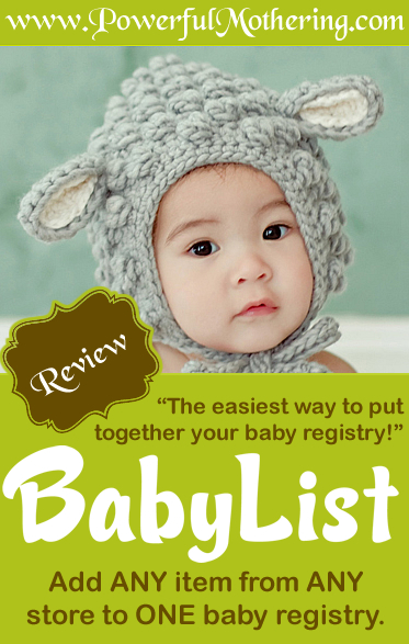 BabyList Review - The Only Baby Registry you will Ever Need!