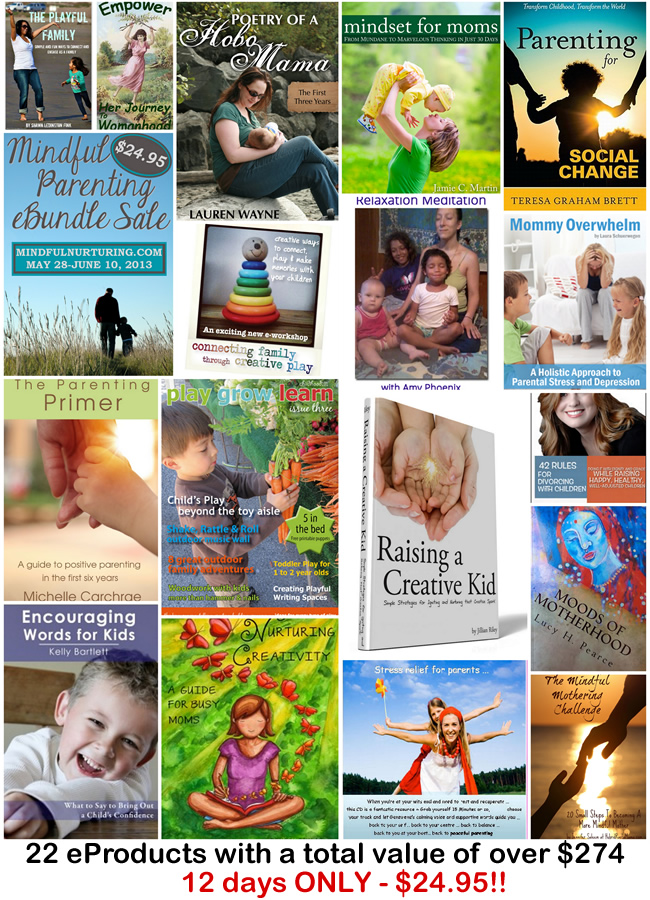 The Mindful Parenting eBundle holds 22 conscious parenting titles a $274 value for only $25