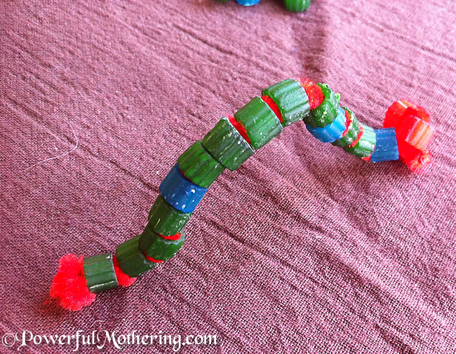 Bead Caterpillar Crafts