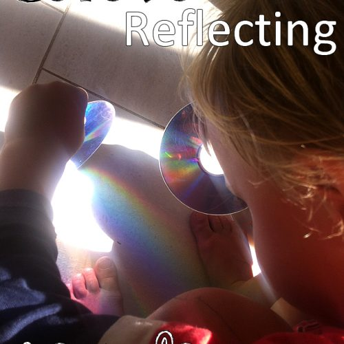 cd dvd reflecting recycle looking