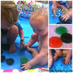 Exploring: Color Ice Play