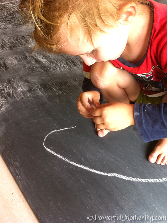 How to Make a Kids DIY Chalk Board