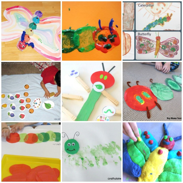 60 Play Ideas Based On The Very Hungry Caterpillar Book By Eric Carle