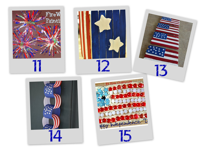 4 July Crafts and Activities for Kids