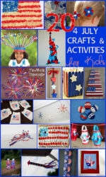 20 4th July Crafts & Activities for Kids