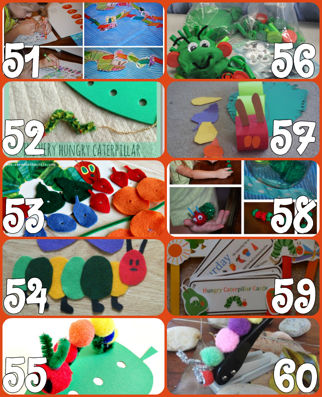 60+ Play Ideas Based On The Very Hungry Caterpillar Book By Eric Carle {Click Image for More}60+ Play Ideas Based On The Very Hungry Caterpillar Book By Eric Carle {Click Image for More}