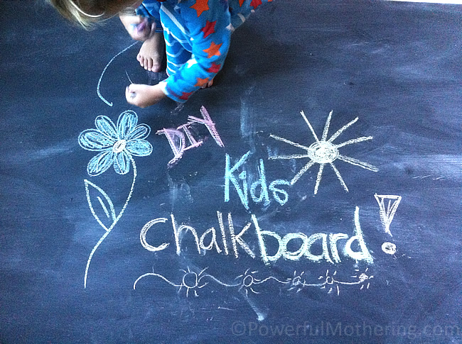 how to make a Kids Chalk Board for scratch