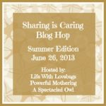 Blog Hop! Summer Sharing is Caring!