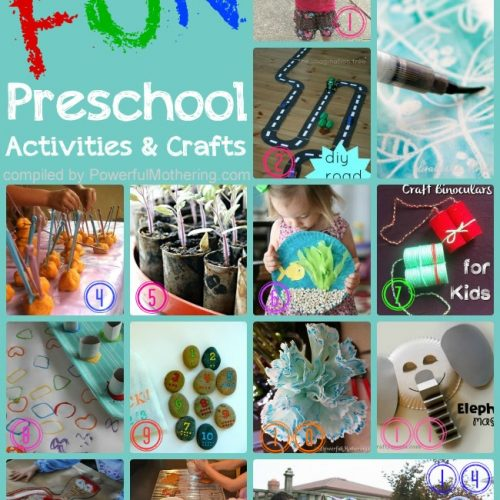 14+ Activities and Crafts that were created with preschoolers in mind. These help with creativity, imagination, fine motor skills and more!