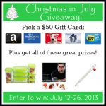 It's Christmas in July! {Giveaway}