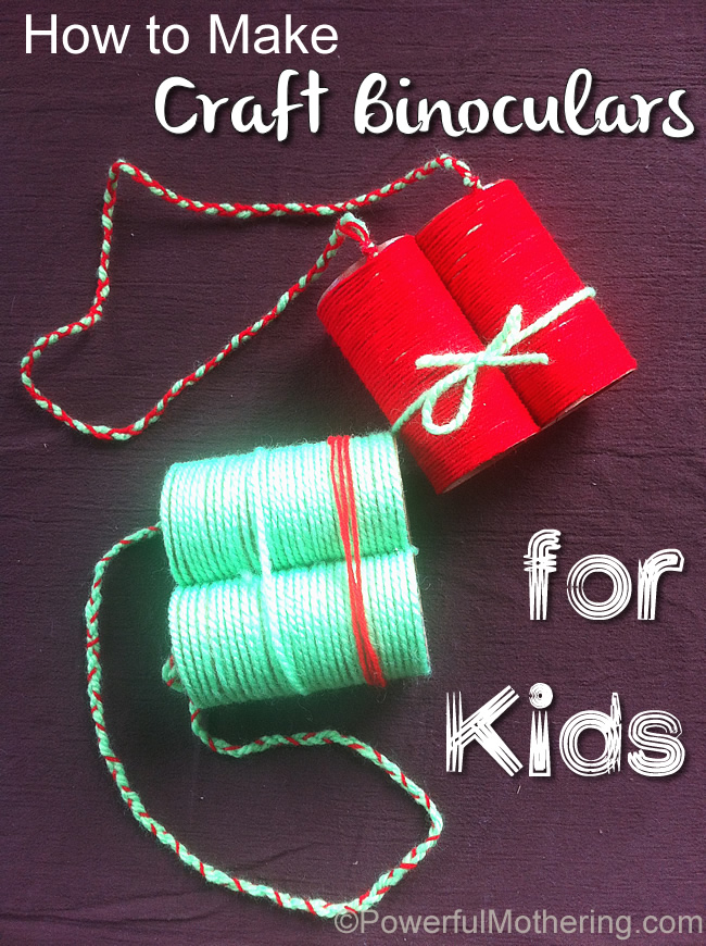 How to make craft binoculars for kids for Craft toys for kids