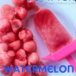 Kids Summer Watermelon Popsicles