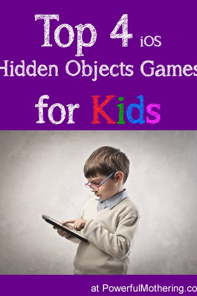 Top 4 iOS Hidden Objects Games for Kids