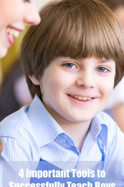 4 Important Tools to Successfully Teach Boys