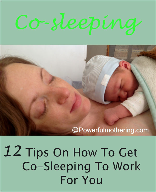 12 tips to help make co-sleeping work for you