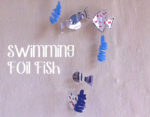 Swimming Foil Fish Mobile