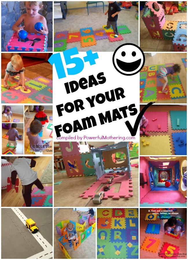 15 Plus Ideas For Your Foam Mats