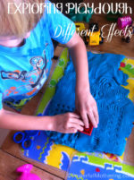 Exploring Play Dough with Different Effects