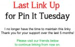 Last Featured for Pin It Tuesday