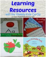 Learning Resources with the Kids Co Op #6