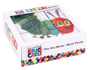 2 Mudpuppy Eric Carle Very Hungry Caterpillar Block Puzzle