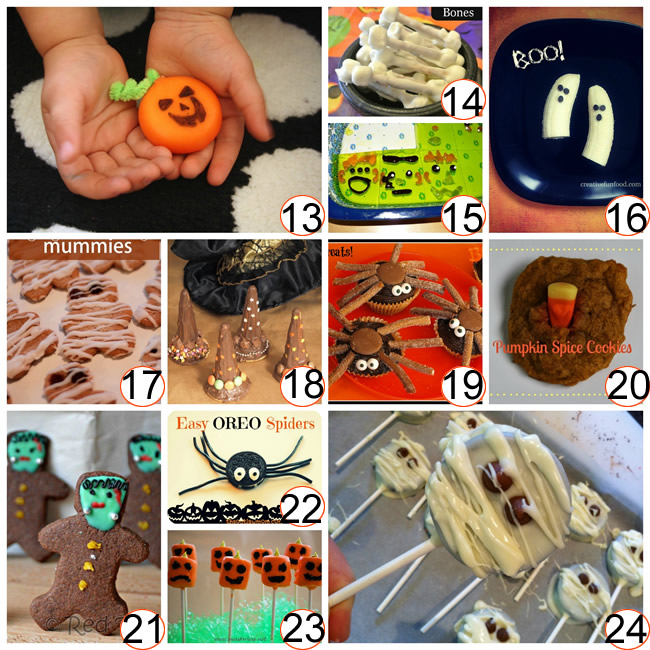 35 halloween treats and recipes for kids - Toddler Halloween Treat Ideas
