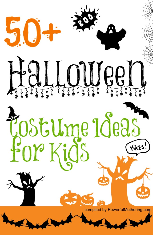 50 Halloween Costume Ideas for Kids