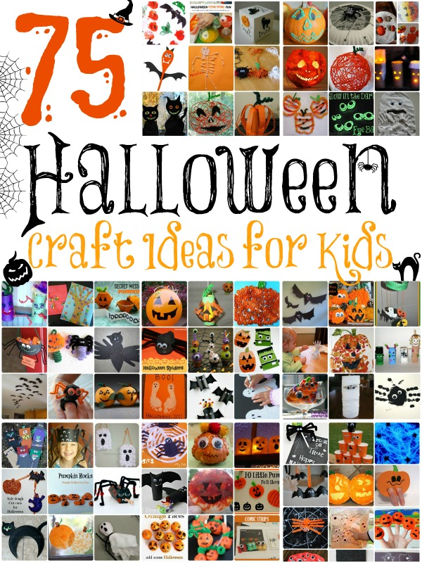 halloween craft idea for kids 75 craft ideas for 6661
