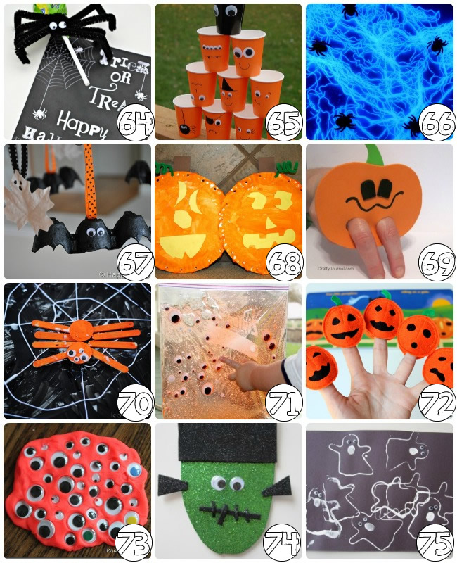 75 Free Halloween Arts and Crafts